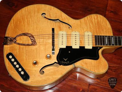 Guild Guitars Stratford X 375/x 350b  1960 Blonde