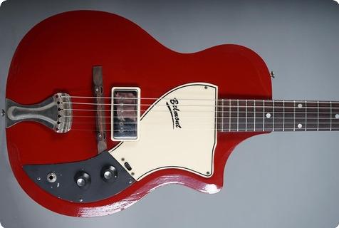 Supro 1570 Belmont 1960 Maroon