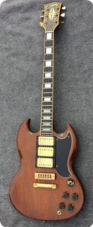 Gibson Sg Custom 1973 Walnut