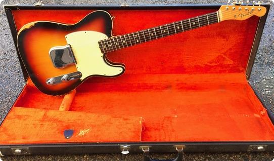 Fender Custom Esquire 1964 Sunburst
