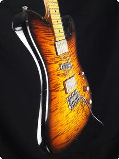 Tausch Guitars 665 Raw Deluxe Tobacco Burst