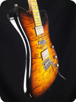 Tausch Guitars 665 RAW DeLuxe Tobacco Burst