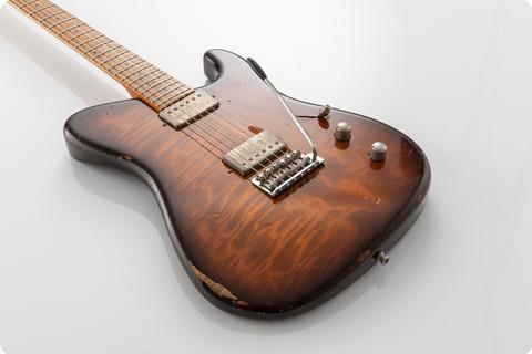 Tausch Guitars 665 Raw Deluxe Antique Burst, Relic