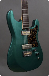 Kithara Guitars Harland Emerald Green Metallic