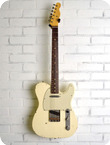 Nashguitars T 63 Olympic White Light Aging