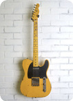 Nashguitars T 52 Ash Butterscotch Medium Aging