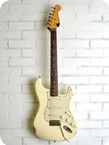 Nashguitars S 63 Olympic White Light Aging