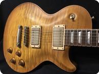Nik Huber Guitars Orca 59 Faded Sunburst Standard Curly Top