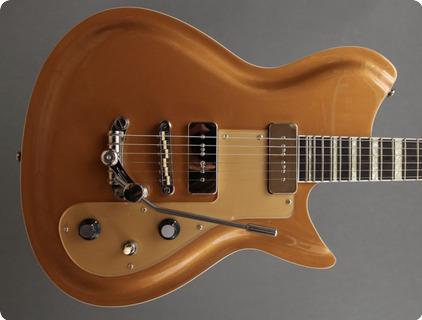 Rivolta Guitars Combinata Xvii Ltd Edition Gold Top