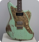 Paoletti Guitars Italy 112 HP90 Sage Green 2021 Sage Green Pickled Finish