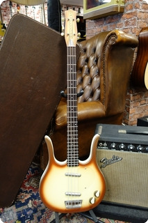 Danelectro Danelectro Longhorn Copper Burst With Case