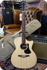 Eastman Eastman PCH1 GACE Grand Auditiorium Model Cutaway And Electronics Natural
