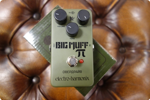 Electro Harmonix Electro Harmonix Big Muff Russian Fuzz/distortion