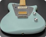 Rufini Guitars Zyco 2021 Ice Blue Satin