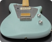 Rufini Guitars Zyco Prototype 2021 Ice Blue Satin