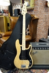 Fender Fender Limited Edition 70s Precision Bass Natural With Gigbag