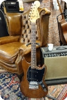 Fender-Fender Mustang 1975 Brown, Rosewood Fingerboard