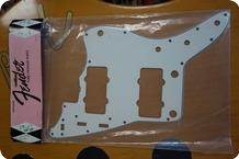 Fender-Fender Pickguard 65 Jazzmaster White 0093998049