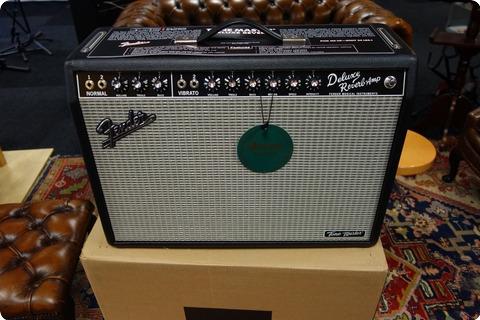 Fender Fender Tone Master Deluxe Reverb 230v Eur 2019 Black Tolex
