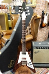 Gibson-Gibson 2014 Flying V '67 Reissue Meastro Custom Shop Vintage Cherry