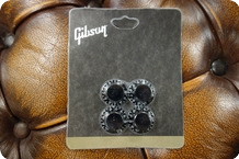 Gibson Gibson PRHK 010 Top Hat Knobs Black 4 Pcs