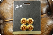 Gibson Gibson PRHK 030 Top Hat Knobs Vintage Amber 4 Pcs