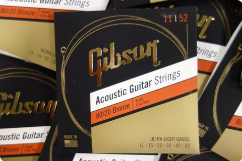 Gibson Gibson Sag Brw11 1 Acoustic Guitar Strings 11 52 Bronze ( 9 Sets )