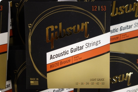 Gibson Gibson Sag Brw12 1 Acoustic Guitar Strongs 12 53 Bronze (10 Sets)
