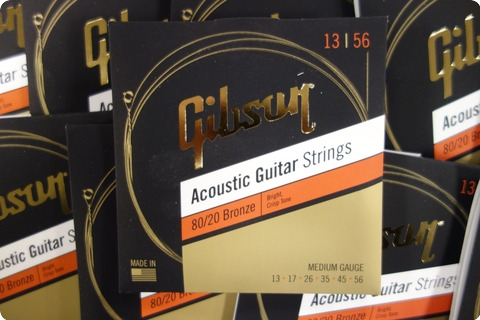 Gibson Gibson Sag Brw13 1 Acoustic Guitar Strings 13 56 Bronze ( 10 Sets )
