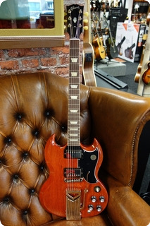 Gibson Gibson Sg Standard '61 Sideway Vibrola 2019 Vintage Cherry