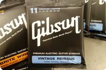 Gibson Gibson Vintage Reissue 11 Medium Pure Nickel 8 Sets 1 Free 11 Brite Wire