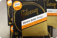 Gibson Gibson Vintage Reissue 11 50 Medium Gauge Historic Era 10 Sets