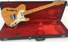 Fender Telecastger Thinline 1971 Natural