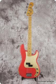 Fender Precision Bass 50s Reissue 2017 Fiesta Red