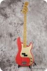 Fender Precision Bass 50s Reissue 2017 Fiesta Red