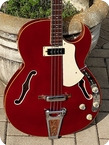 Vox Apollo V271 Mk.IV Bass 1967 Cherry Finish
