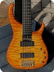 Modulus Quantum 5 Q5 Bass 1999 Honey Amberburst