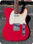 Fender Telecaster Muddy Waters Ltd. Run 2002 Candy Apple Red Metallic Finish
