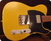 Real Guitars Real Guitars Std Build Keith T Roadwarrior 2021 Butterscotch