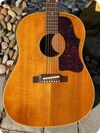 Gibson J 50 1963 Natural Finish