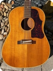 Gibson J 50 1963 Natural Finish