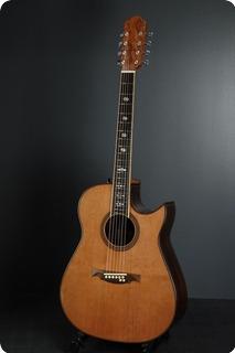 Ervin Somogyi Dreadnought Cutaway 8 Strings 1981 Natural