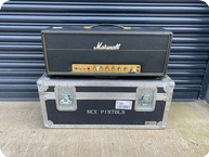 Marshall Superlead 100 Head Ex Steve Jones The Sex Pistols 1973 Black