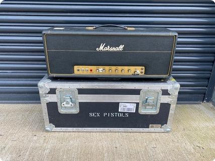 Marshall Superlead 100 Head Ex Steve Jones The Sex Pistols 1973 Black