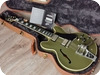 Gibson -  ES-355 Olive Drab Green VOS Limited Run Bigsby With COA & Case 2015 Olive Drab Green