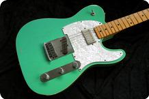Fender Custom Shop-Telecaster Custom-2017-Form Green