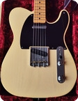 Fender 1950 Vintage Custom Double Esquire NOS Custom Shop 2018 Butterscotch