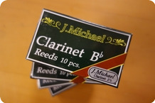 J. Michael J. Michael Bb Clarinet Reeds 4 pack