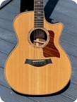 Taylor 814ce 2014 Natural Finish