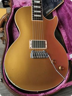 Gibson Les Paul Joe Perry Gold Rush Aged Axcess Custom Shop  2019 Goldtop